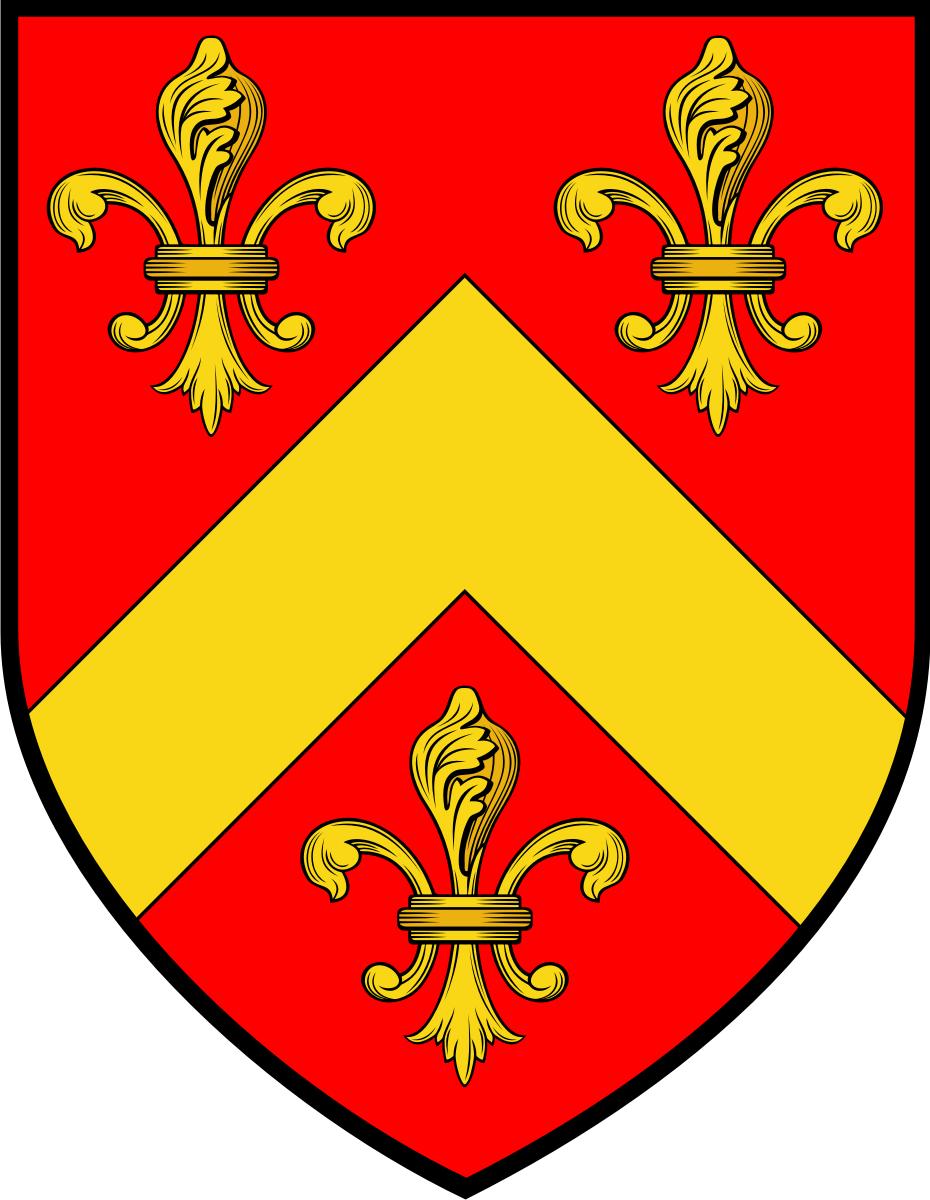 Brun family crest