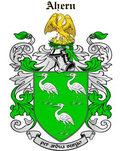 AHERN family crest