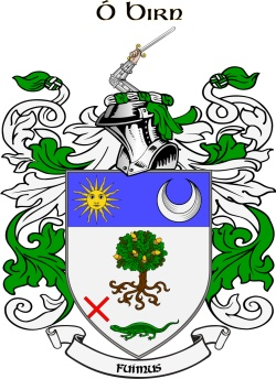 BYRNES family crest