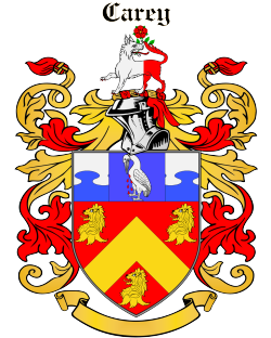 CAREY family crest