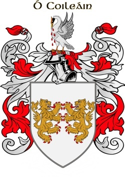 COLLINS family crest