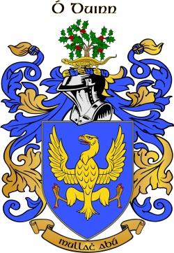 DUNNE family crest