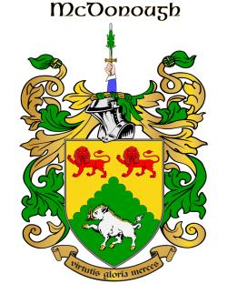 MCDONOUGH family crest
