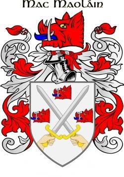 MCMULLEN family crest