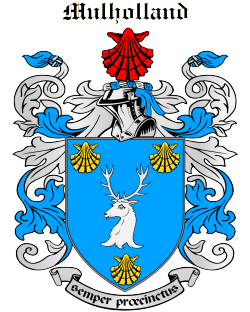 MULHOLLAND family crest