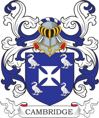 CAMBRIDGE family crest