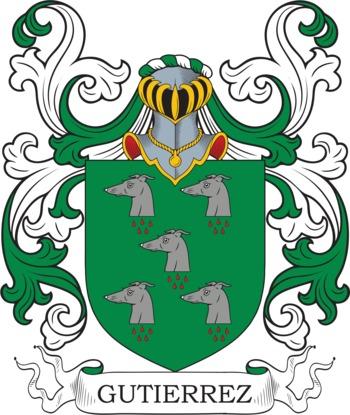 GUTIERREZ family crest
