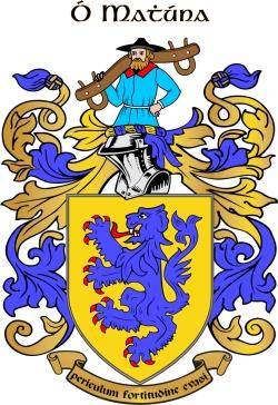 MAHON family crest
