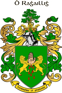 REILLY family crest