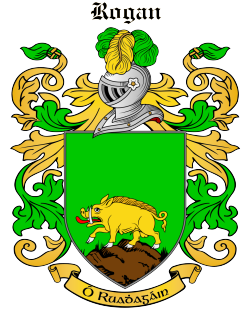 ROGAN family crest
