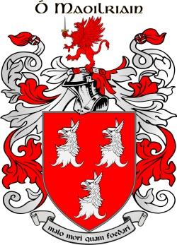 RYAN family crest